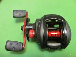1 ABU GARCIA BLACKMAX3 LOW PROFILE RIGHT-HANDED BAITCASTING