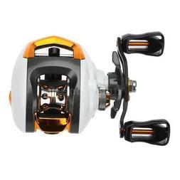 12+1 Ball Bearings Baitcasting Reel Fishing Fly +Magnetic Br
