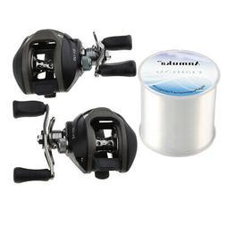 Perfeclan 13+1BB Baitcaster Fishing Reel, Left Right Hand &