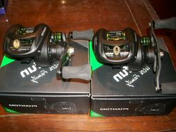 2 New Piscifun Phantom super light Carbon baitcast reels rig