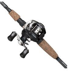 Shakespeare Agility Low Profile Baitcast Reel and Fishing Ro