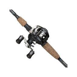 Shakespeare Agility Low Profile Baitcast Reel & Fishing Rod