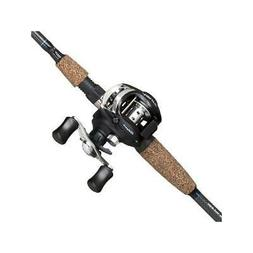 Low Profile Baitcasting Reel Fishing Rod Combo Adjustable Ma