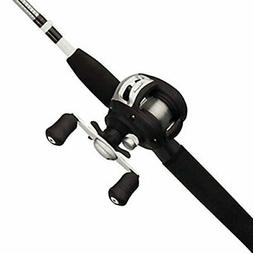 Shakespeare Alpha Medium 6' Low Profile Fishing Rod and Bait