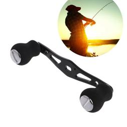 Aluminum Alloy Fishing Handle Reel Double Knob Replacement B