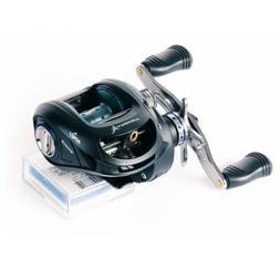 Ardent Apex Magnum Baitcast Reel, Black/Silver, Right Hand b