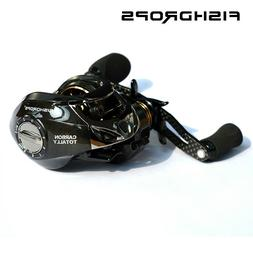 bait casting carbon totally fishing reel right