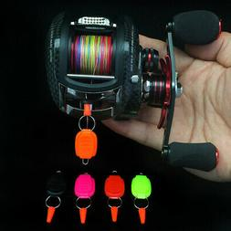 Baitcasting Cast Reel Fishing Line Buckle Stop Keeper Tackle