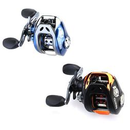 BaitCasting Fishing Reel 10+1BB with Magnetic Brake Spinning