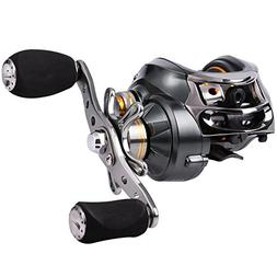 Sougayilang Baitcasting Reel, 11+1 Stainless Steel Bearings,