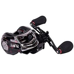Entsport New Baitcasting Reel 14+1 Ball Bearings Low Profile