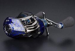 Entsport New Baitcasting Reel Low Profile Casting Reel High