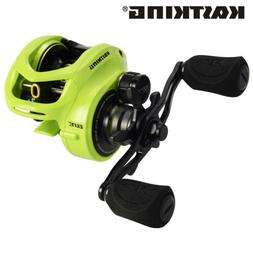 KastKing Bassinator Elite Baitcasting Reel 17.6LB Carbon Dra