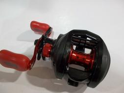 Abu Garcia Black Max 3 right handed baitcast reel red handle