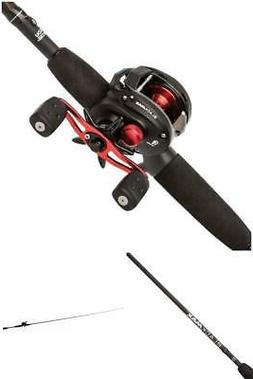 low profile baitcast reel and fishing rod