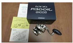 Brand New Shimano Ocea Jigger 1500HG Saltwater Star Drag Ree