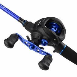 KastKing Cadet Casting Combos - 2pcs IM6 Fishing Rod & Baitc