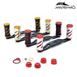 CAMEKOON Carbon Fiber Handle Double Knob Replacement Baitcas