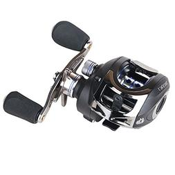 Entsport Casting Reel Low Profile Baitcast Fishing Reel 10+1