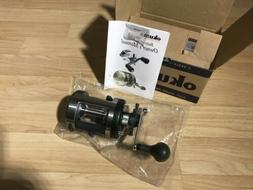 OKUMA CHROMER CR-400LX LEFT HAND BAITCASTING REEL NEW