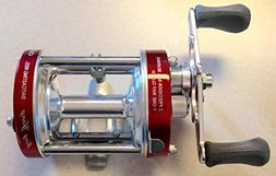 Ming Yang CL60L Red Baitcast Conventional Fishing Reel Lefth