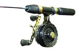 Eagle Claw Cold Smoke Inline Ice Light Fishing Combo, 28-Inc