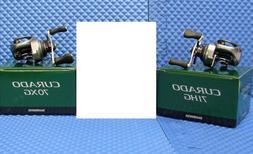 Shimano  Curado  70XG and 71HG Series Low Profile Baitcast