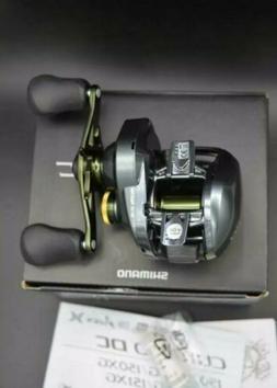 Shimano Curado DC 151HG 7.4-1 Low Profile  Left Handed Baitc