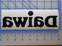 daiwa logo decal sticker 5 5 7