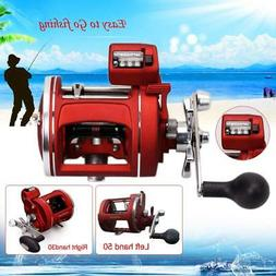 Fishing Reel Trolling Bearings Baitcasting Line Wheel Counte