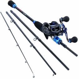 Fishing Rod and Reel Combos,24-Ton Carbon Fiber Fishing Pole