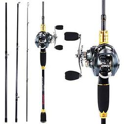 Fishing Rod & Reel Combos And Combos,24-Ton Carbon Fiber Pol
