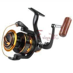 Fishing Spinning Reel 10BB 5.1:1 Al Spool Ultra Light Ice Hi