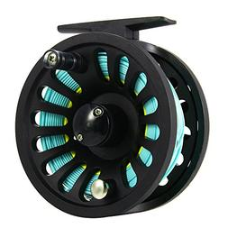 Isafish Fly Reel 5/6 Wt with Weight Forward Fly Fishing Line