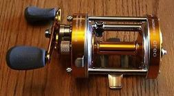 Ming Yang GOLD CL60 Baitcast Fishing Reel Muskie Catfish & S