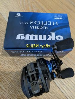 Okuma Helios TCS Baitcast Reel 8BB+1 8.1:1 12Lb/130 HTC-281V