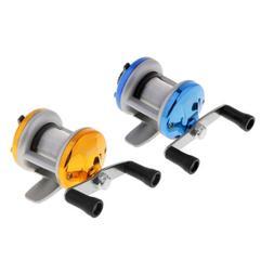 Ice Fishing Reel Drum Reel Wheel Baitcasting Reel Trolling W