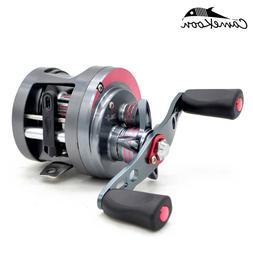 CAMEKOON JD Round Baitcasting Fishing Reel 4.7:1/4.6:1 Gear