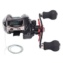 kunting baitcast fishing reel included