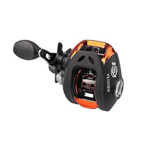 CISNO 6.3:1 Ball Bait Fishing Reel Bait Casting