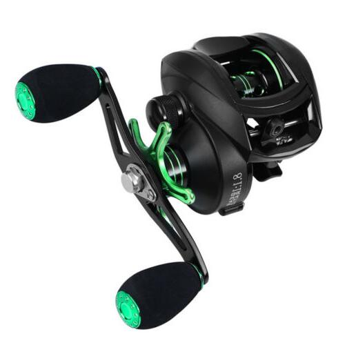 12 1bb baitcasting fishing reel reinforced body