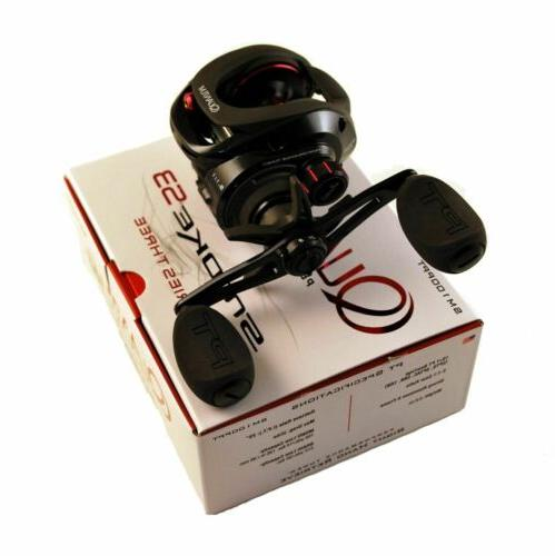 ABU GARCIA AMBASSADEUR 6500CL ROCKET BLACK 5.3:1 RIGHT HAND