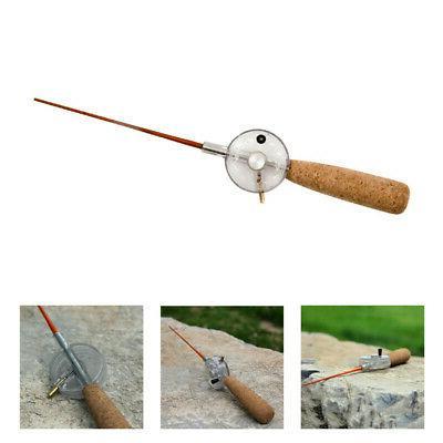 Winter Mini Ice Fishing Rod Travel Freshwater Rod