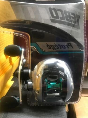 pr100s protege right handed baitcasting reel clam