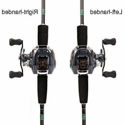 13 Bearing Baitcast Reel Large Line Lightweight Bait Fishing