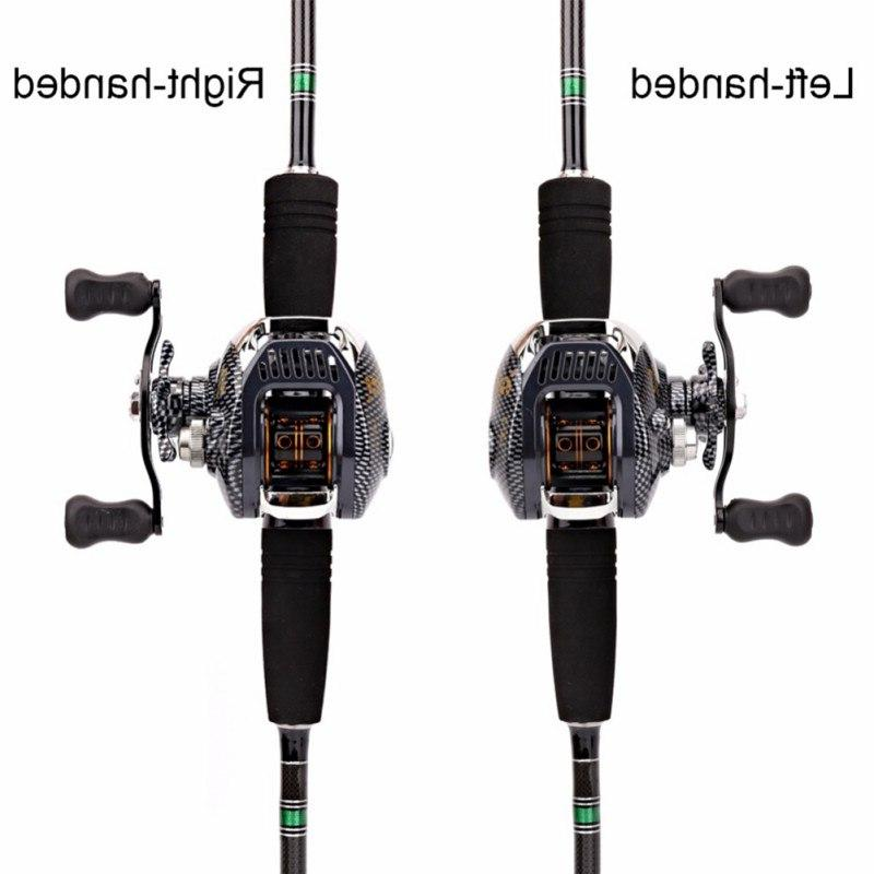 6.3:1 <font><b>Fishing</b></font> <font><b>13</b></font> Bearing Capacity Lightweight Left-handed Right-handed Bait Tool