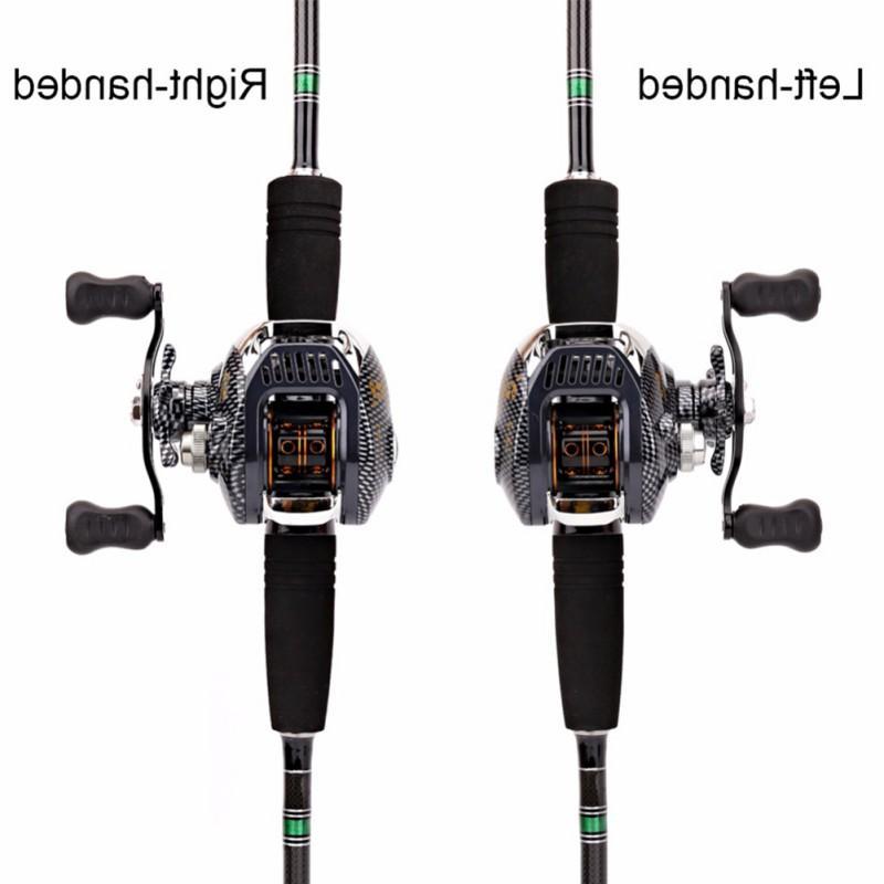 6.3:1 <font><b>Reel</b></font> Large Line Lightweight Left-handed Fishing Wheel