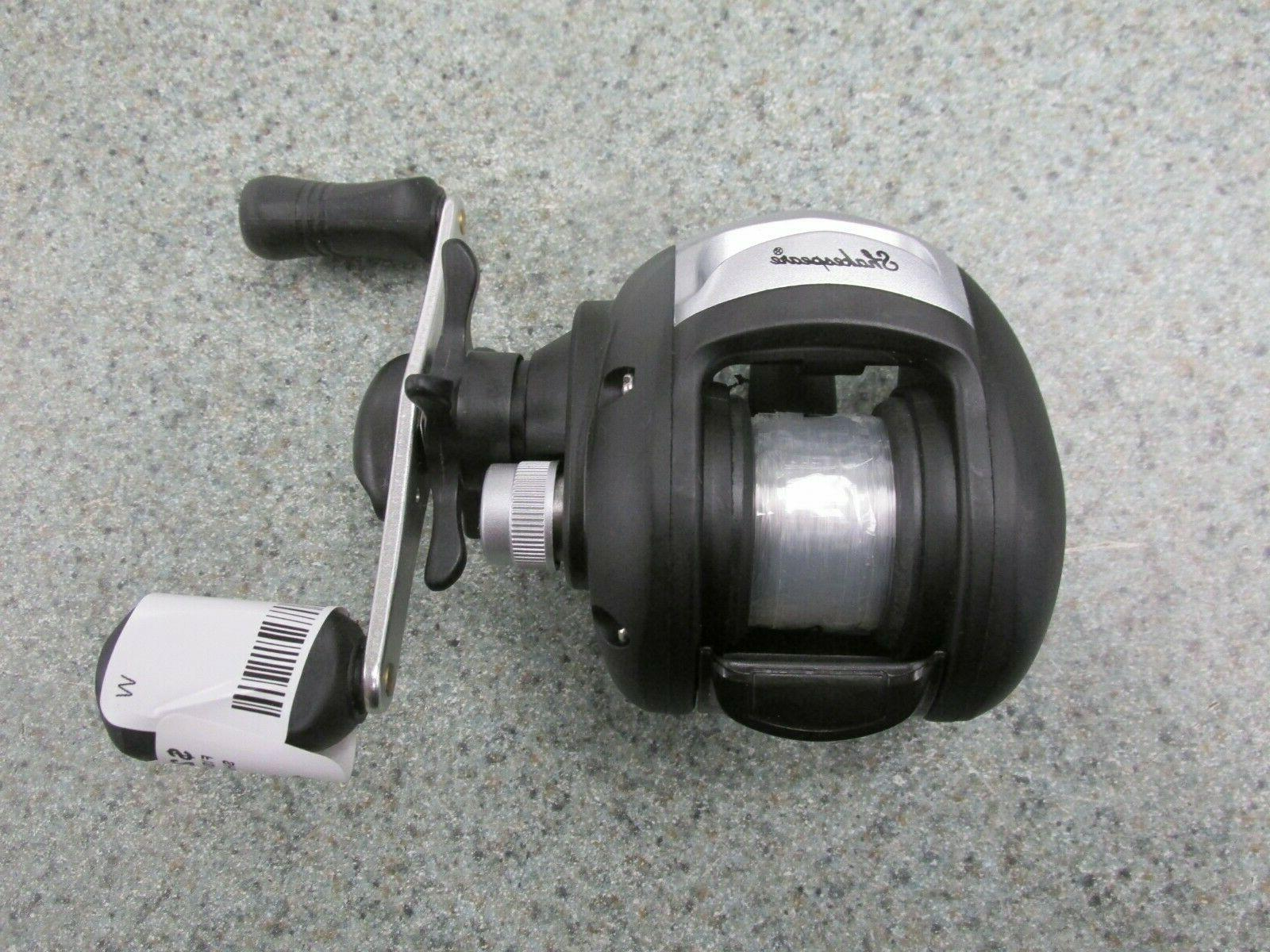 alpha low profile bait cast fishing reel
