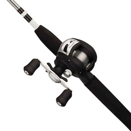 alpha low profile fishing rod and baitcast