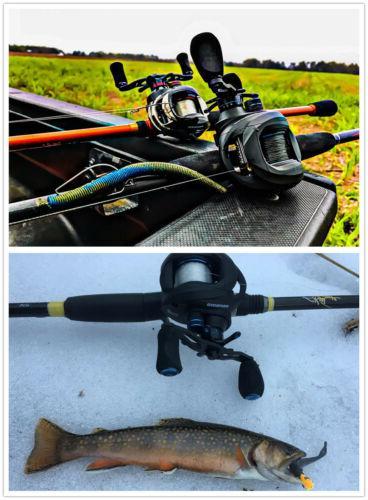 KASTKING ASSASSIN CARBON REEL - BAITCASTER FISHING